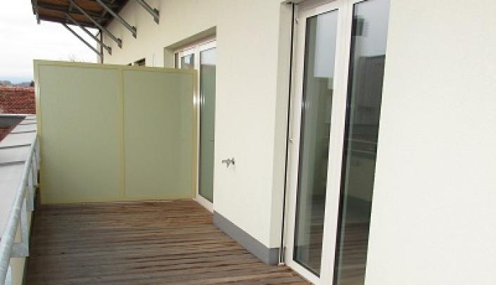 Barrierefreie, leistbare Erstbezugswohnung mit Holzterrasse, Lift und Tiefgarage      8200 Gleisdorf / Stadt