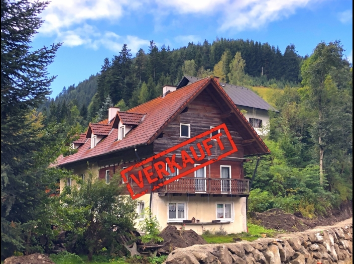 Landhaus mit Potential, auch für 2 Familien und mehr  8616 Naturparkgemeinde Gasen