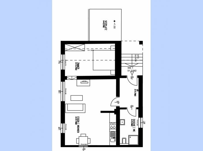 51 m² gleisdorf WE 1